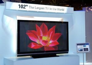 USA:  PRESENTATO IL PIU GRANDE TELEVISORE