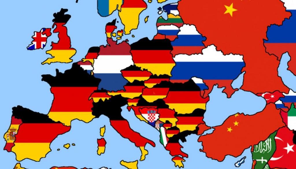 Come colorata l europa una foto disarmante ottobre rosso - Bandiera della pagina di colorazione della germania ...