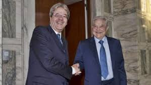 Soros Gentiloni