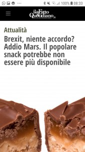 Mars Brexit
