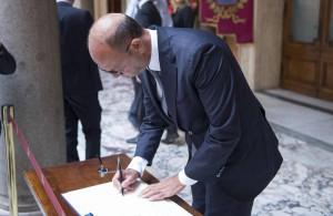 Ciampi: Alfano, grande italiano onorò Italia e Ue