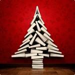 albero di natale di libri