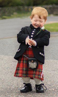 scottish baby