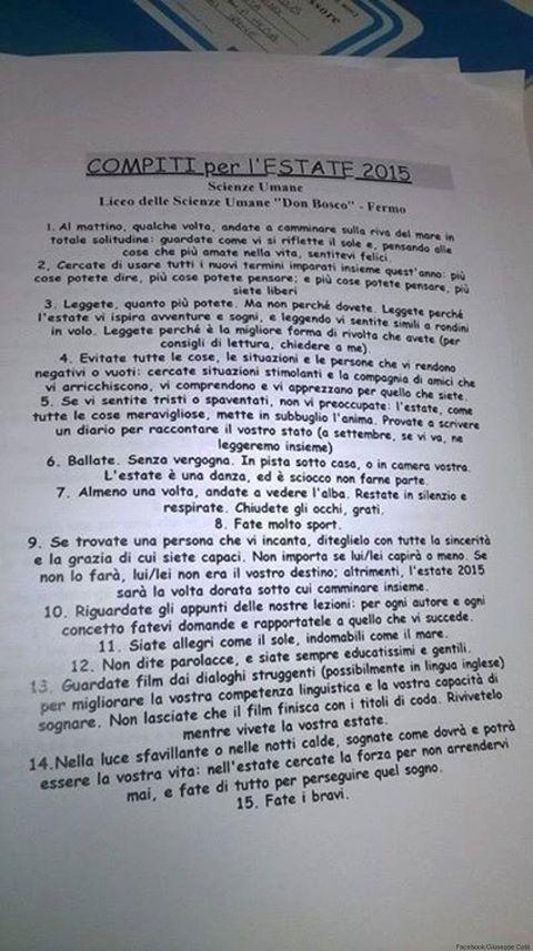 lista compiti