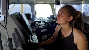 «Sea-Watch 3» - Kapitänin Carola Rackete