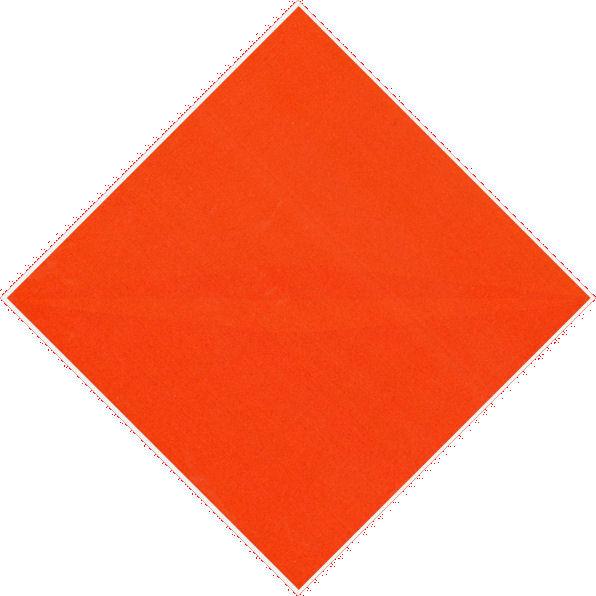 Compenetrazione cromoideata arancio rosso