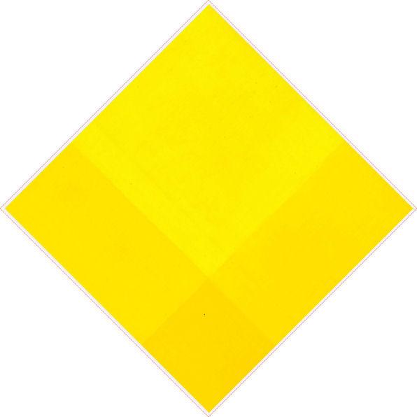 Compenetrazione cromoideata giallo 2004