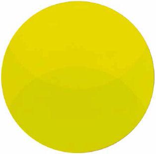 Immaginazione cromoideata verde giallastro