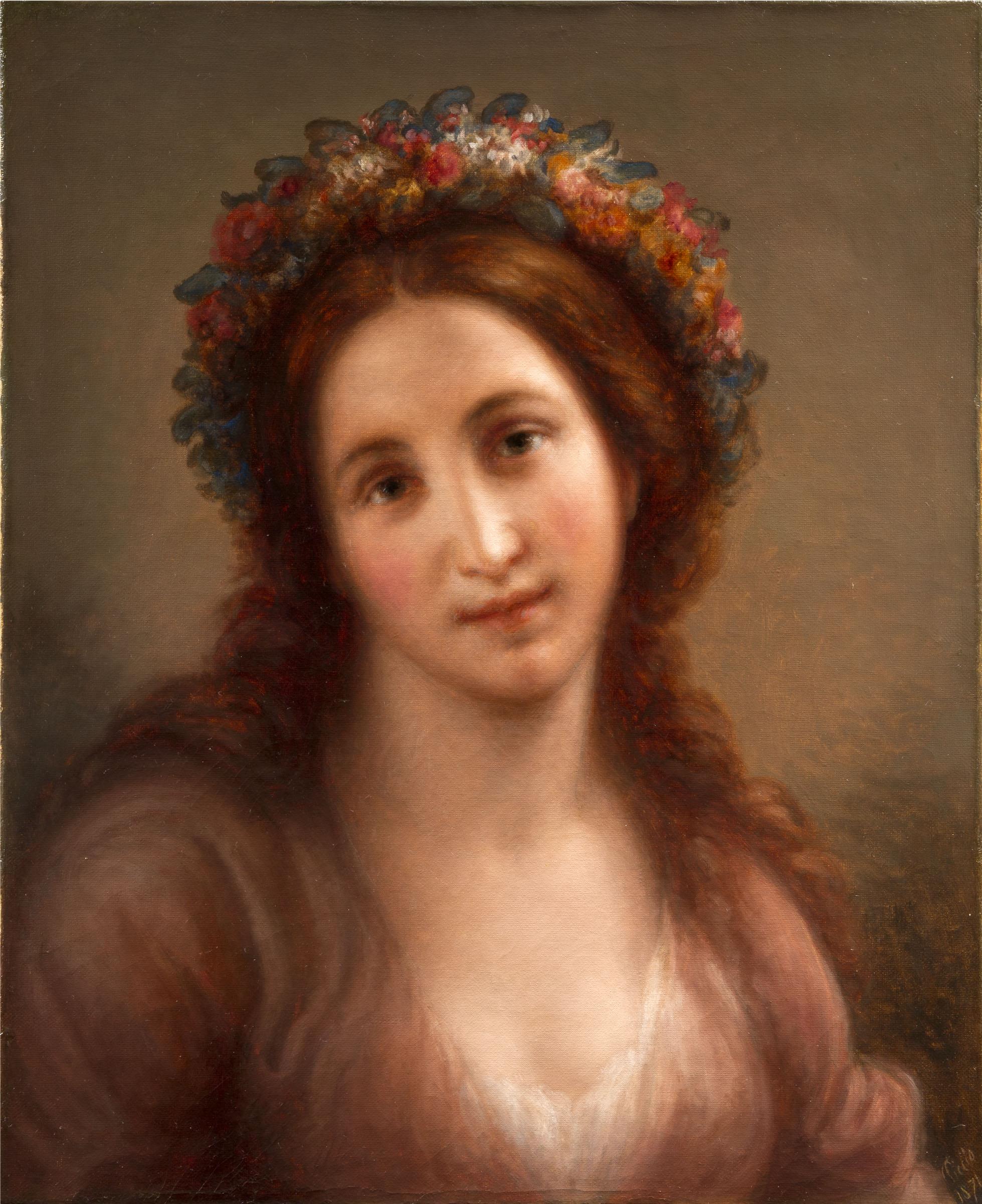 Carnovali G. -Flora (post restauro)-