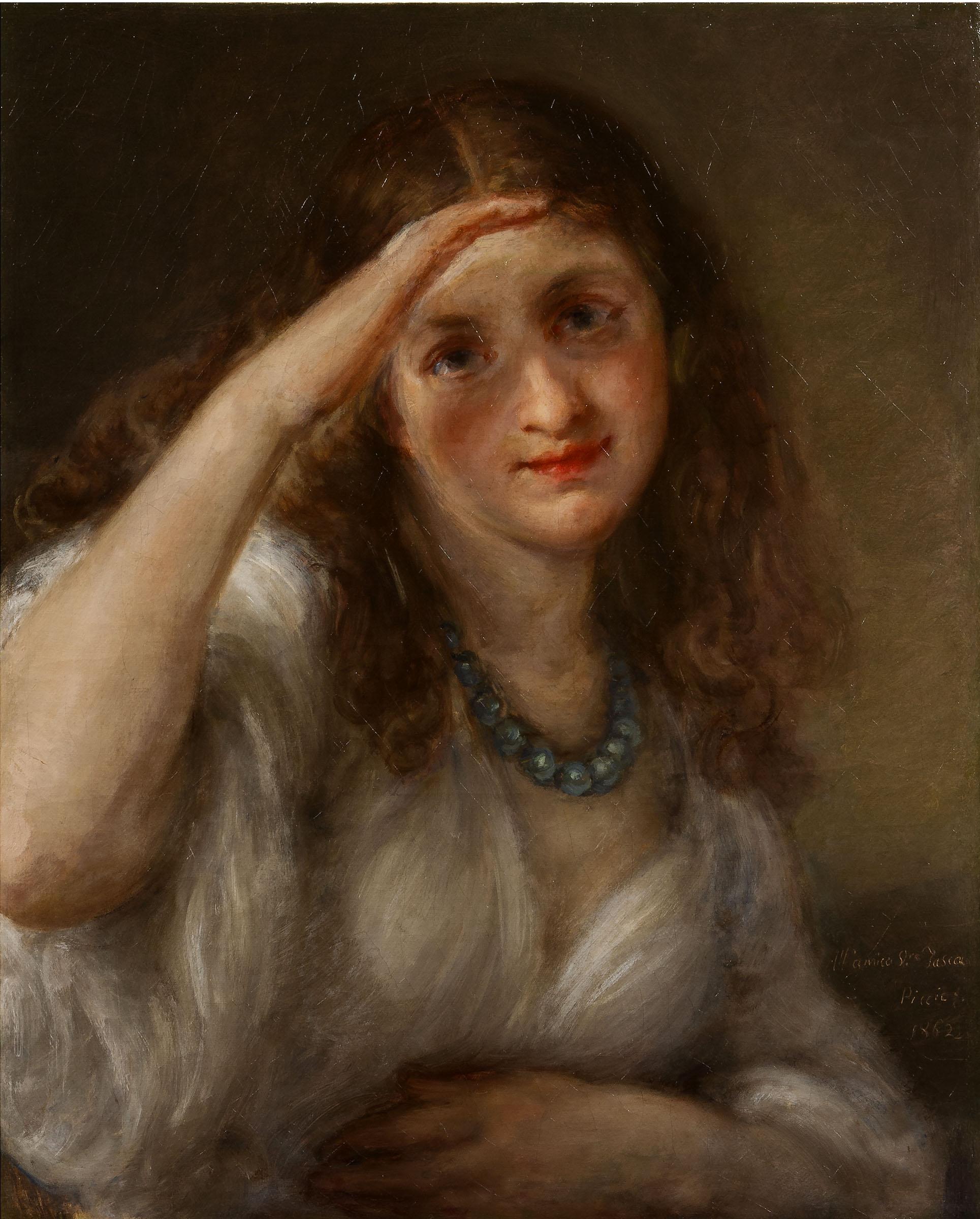 Carnovali G. -Ritratto di Gina Caccia-