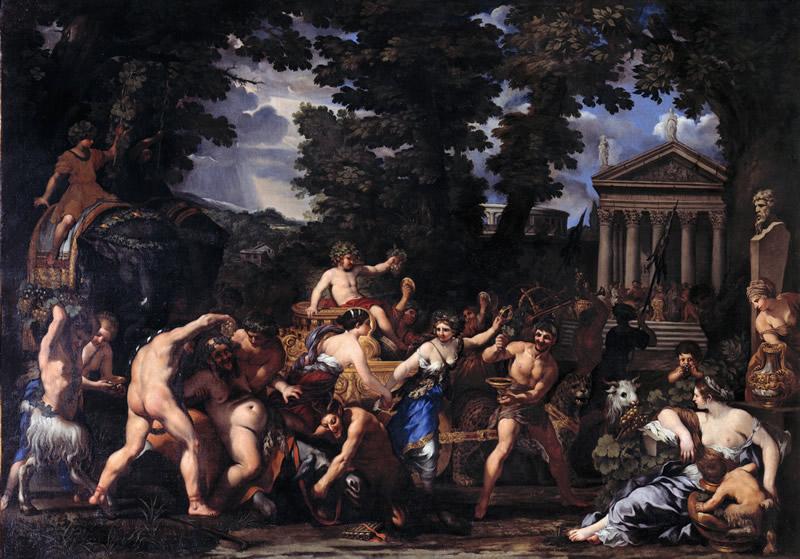 Pietro da Cortona, Trionfo di Bacco-pic