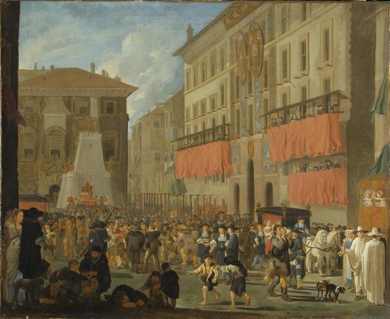 Willem Reuter, Festa all'Ambasciata di Spagna-pic
