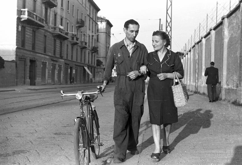 Federico Patellani, Dopoguerra Milano, 1945
