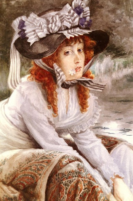 James Tissot - On The River