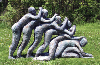 Mark Chatterley sculptures