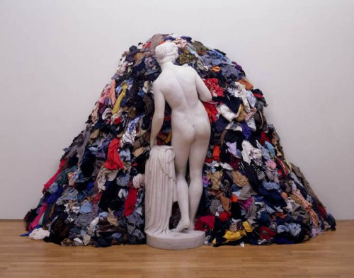 Venus of the Rags 1967,1974 by Michelangelo Pistoletto born 1933