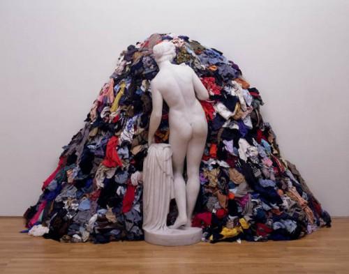 Venus of the Rags 1967,1974 by Michelangelo Pistoletto born 1933