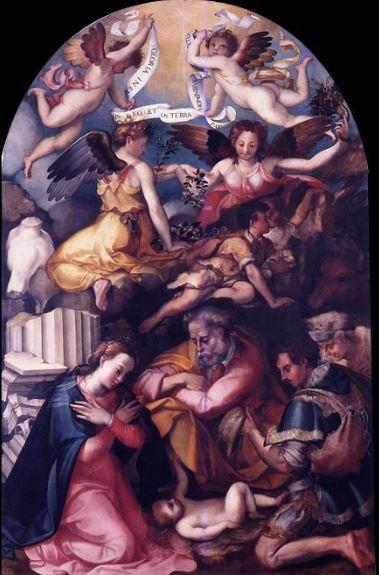 Adorazioni-dei-Pastori-o-Novità-Carlo-Portelli-Chiesa-di-San-Michele-Firenze