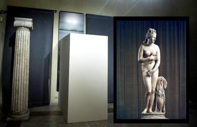 Rohani a Roma:coperte alcune statue di nudi musei capitolini