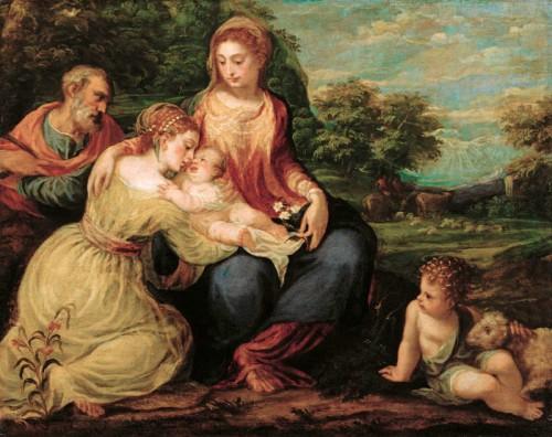 03.-Andrea-Schiavone-Sposalizio-mistico-di-Santa-Caterina-Kunsthistorisches-Museum-Vienna_