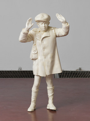 adel-abdessemed-mon-enfant-ivory-height-133-cm--closeup