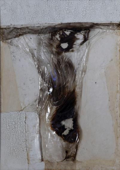 01._Burri,_Combustione_plastica_64CP3,_1964