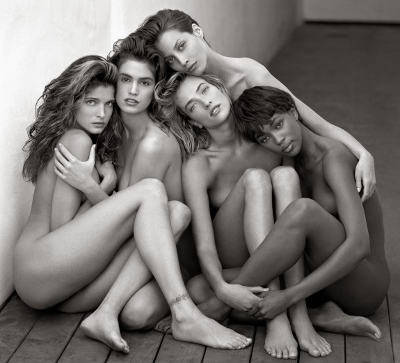 Stephanie, Cindy, Christy, Tatiana, Naomi