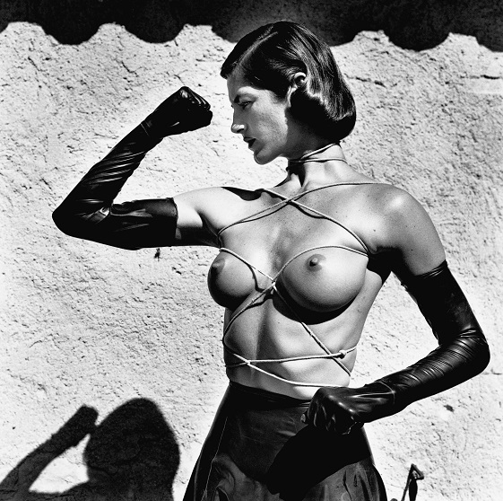 8_Helmut Newton, Tied Up Torso, Ramatuelle 1980