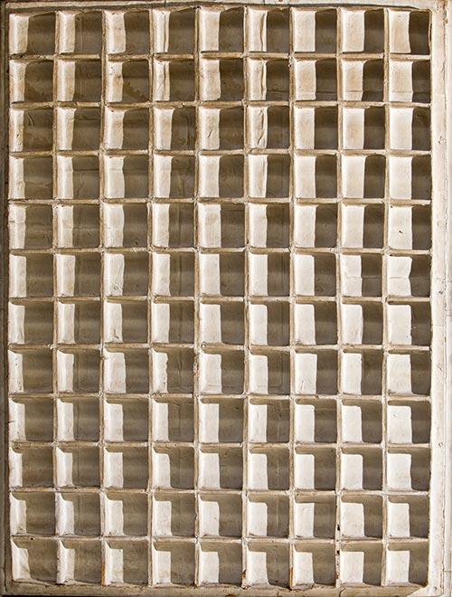 Jan-Schoonhoven-1914-1994-Relief-1965-100x78-cm-papier-mache-vernice-e-legno
