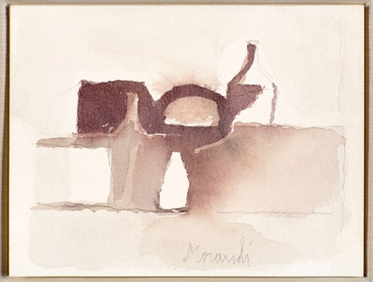 natura morta 1958 aquerello