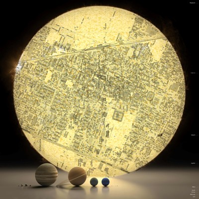 Francesco Pedrini - Planetes (errante), 2016 (render)
