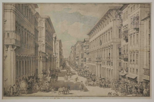 Francesco-Panini-Veduta-del-Corso-ICG