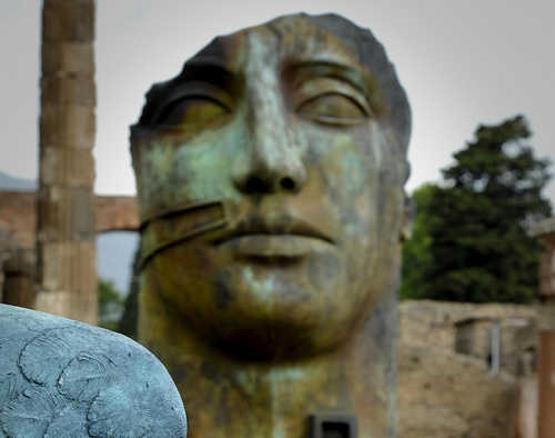 'Mitoraj in Pompeii', exhibition opens