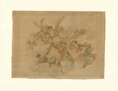 06_-Franceschini-Marcantonio-Flora-Zefiro-penna-inchiostro-bruno-e-acquerello-grigio-su-carta colorata. tif