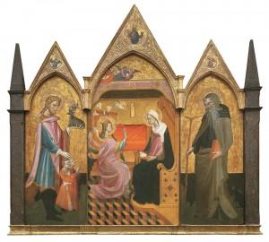 Annunciazione fra i Santi Eustachio e Antonio Abate,
