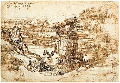 400px-Paisagem_do_Arno_-_Leonardo_da_Vinci