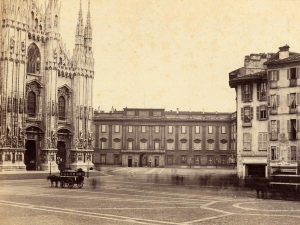 56491-Archivio_della_Veneranda_Fabbrica_-_Franz_Heyland_il_Duomo_e_il_Rebecchino_1860_circa