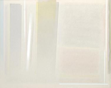 Il giallo si fonde nel grigio, cm 95 x 120, 2013