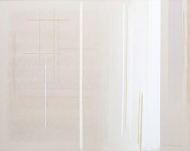Verticalità di luci, cm 95 x 120, 2011