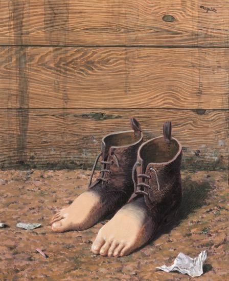 10. R. Magritte_Le moda le rouge_1947