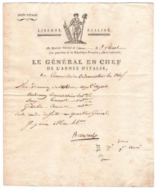 Autografo-di-Napoleone-Bonaparte