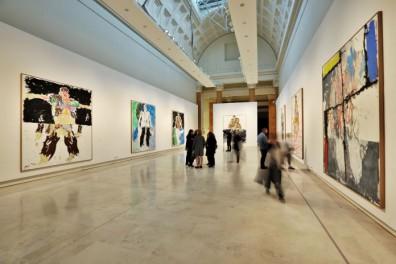 Georg-Baselitz.-Glie-Eroi-Palazzo-delle-Espsizioni-Roma-2017-veduta-della-mostra-12-696x464