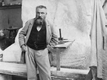 Auguste-Rodin-nel-suo-atelier