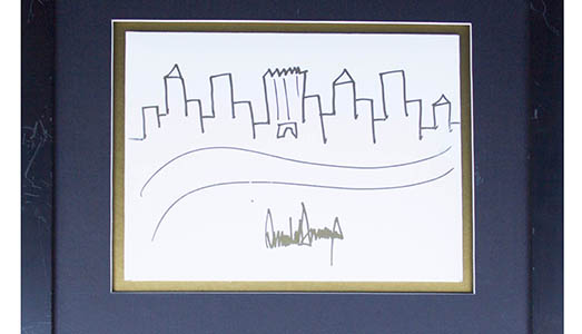 Donald-Trump-Original-Signed-Drawing-of-NYC-Skyline-53866c_lg