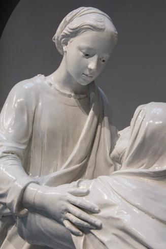 La visitazione di luca della robbia nella restaurata for Chiesa di san leone pistoia