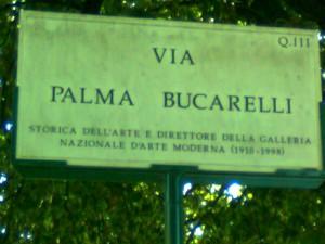 GNAM via Palma Bucarelli