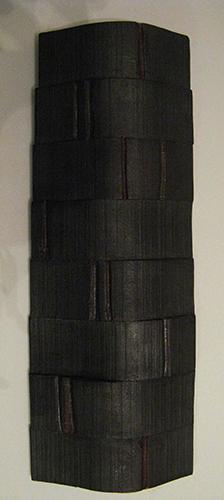 Giancarlo Bulli-Fra un minuto e l'altro-acrilico e legno-cm.13x35x3
