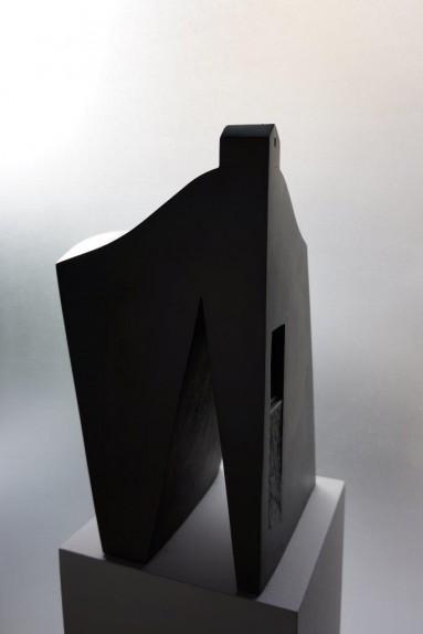 I paesaggi dell'Anima no.1 43x18x24cm bronzo patinato nero 2013
