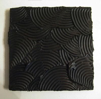 Jorrit Tornquist-Orme-pasta e acrilico su legno-cm.20x20-1992