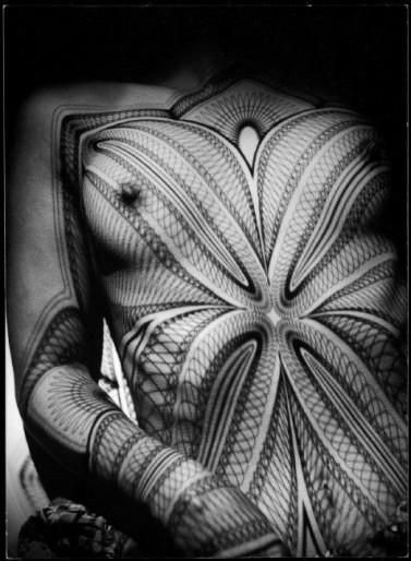 """SWITZERLAND. Zurich. 1941. Nude. """"Breast with grid."""""""